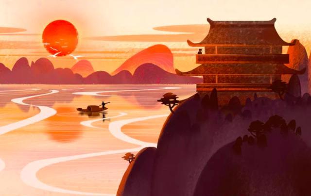 风景的短句,王维笔下的山中景色,短短20字,便美得令人心醉