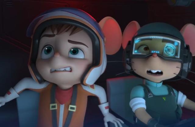 舒克贝塔动画片,《舒克与贝塔》新动画形象曝光,角色全部变3D
