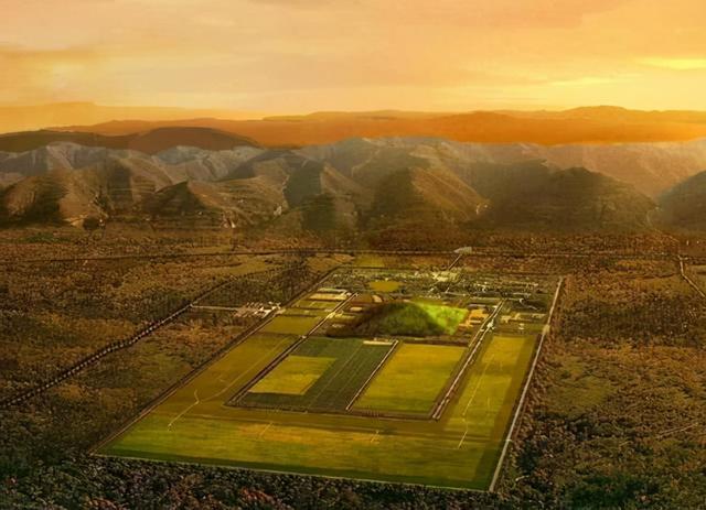 秦始皇陵地宫水银图片,秦始皇陵的地宫中,为何要埋大量的水银?这些水银是从哪里来的?