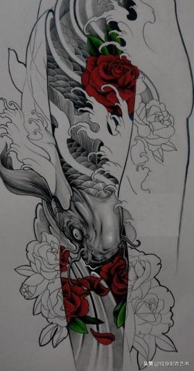 纹身霸气短句,霸气潮流的纹身手稿,年轻人的专属
