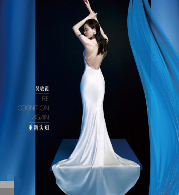 跳水皇后吴敏霞近照罕曝光,露背裙秀超好身材,造型百变不输超模