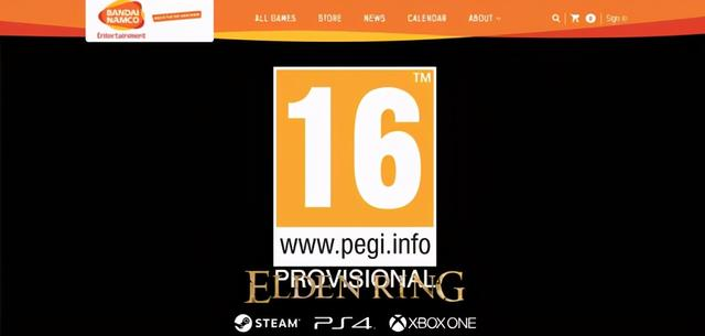 动作网页游戏,《Elden Ring》临时评级更新为16+ 或将有新动作