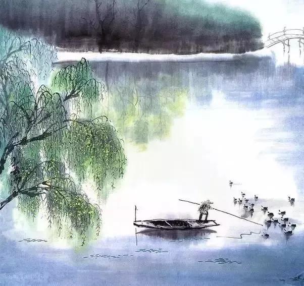 日出江花红胜火的下一句诗是什么,日出江花红胜火,  春来江水绿如蓝。  能不忆江南?