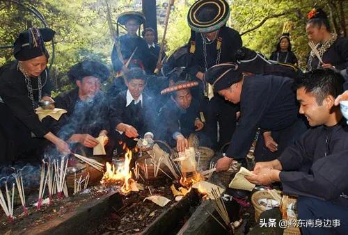 苗族的传统节日,二月二祭桥节,以其古老而神秘的民族仪式