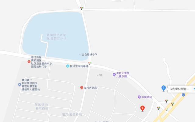赣州房产网,买了赣州这个小区的业主恭喜了!小学学区暂属于师大附小