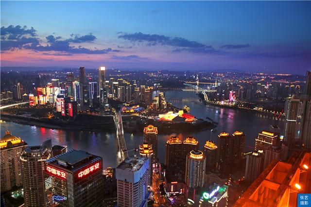GDP总产量中国第五城:重庆市2018年初,重庆总面积8
