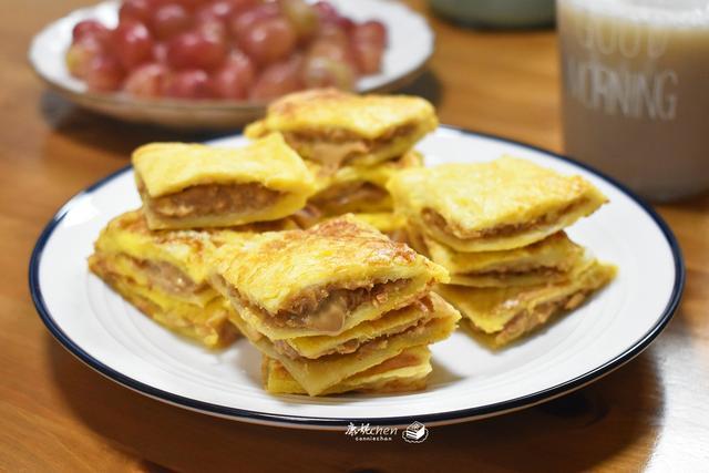 花生酱的吃法,天冷了,家人很爱吃这三文治,10分钟端上桌,解馋营养能量满满