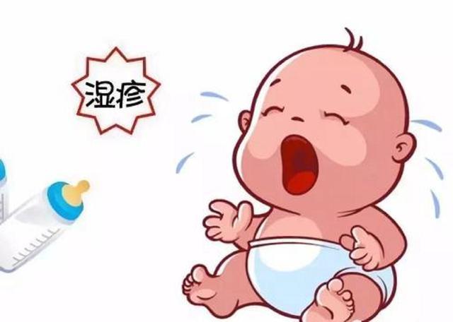 婴儿奶癣,宝宝患湿疹怎么办,新手宝妈要知晓