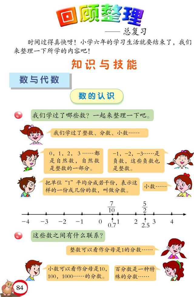 小学数学总复习《数的意义》教学设计