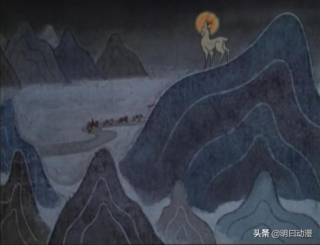 鹿  寓意,《九色鹿》的理念不止善恶有报,潜藏含义需解读人物的刻画来了解