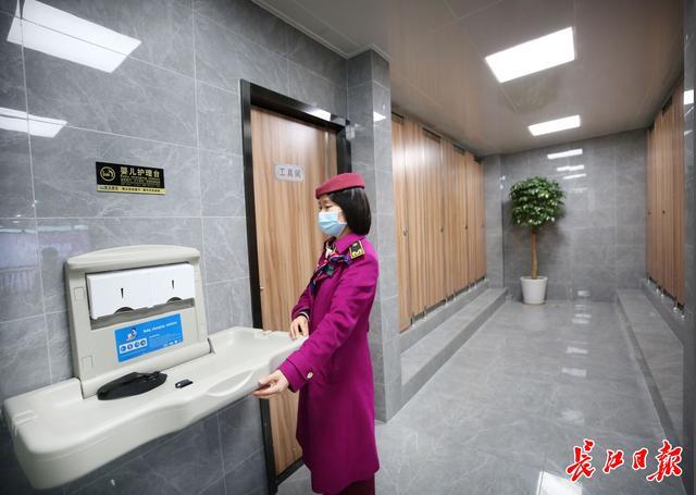 婴儿护理台,升级为3.0版,地铁站卫生间有了婴儿护理台