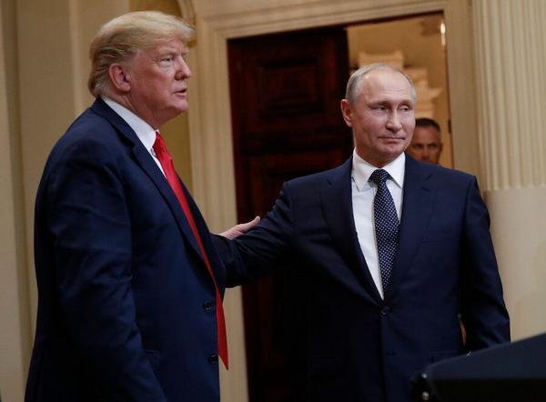 特朗普曾私会普京没带翻译?俄总统新闻秘书:我们带了