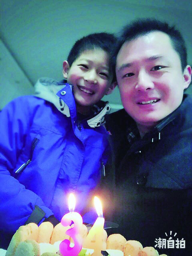 属猪可以带貔貅吗,36岁的胡晨君:本命年很有趣父子俩一起过