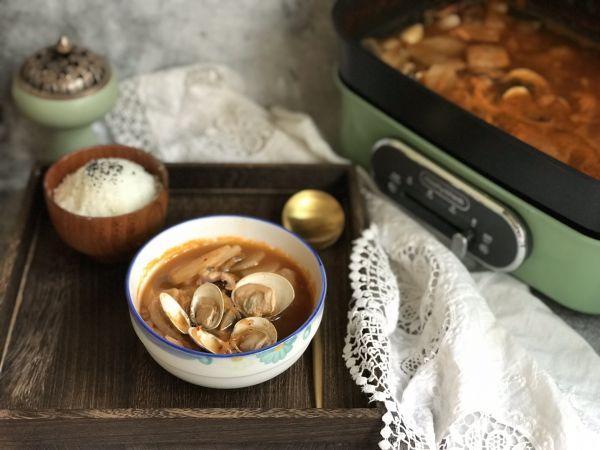 泡菜汤的做法,海鲜泡菜汤