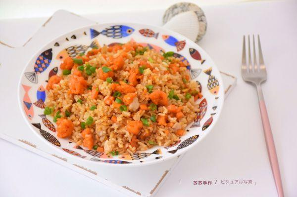 海胆的吃法,百吃不腻的海胆炒饭教程