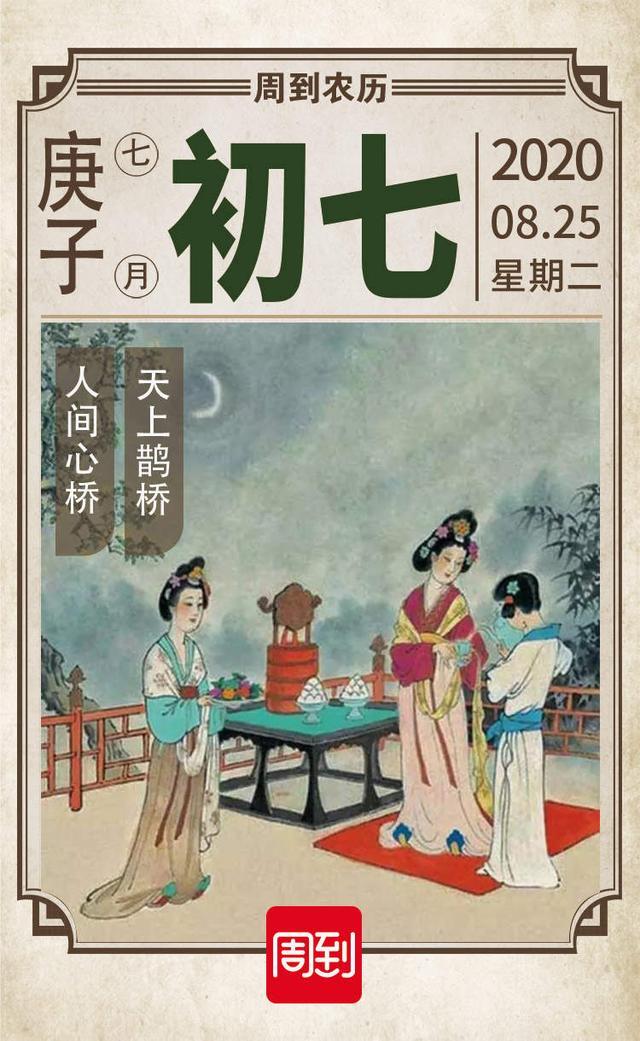 七月七是什么节日,农历中国 | 七月初七 · 七夕节