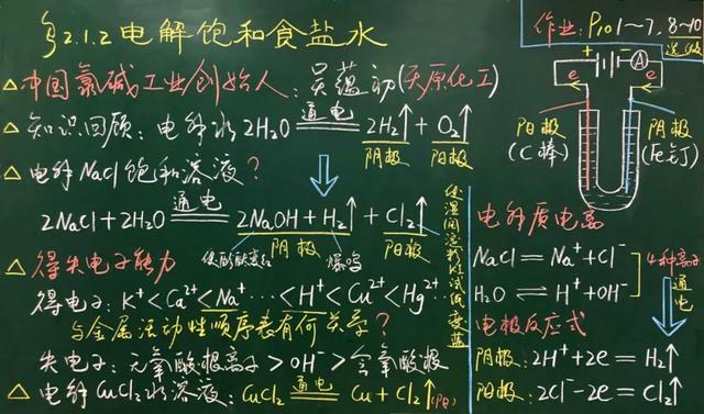 松江老师的绝美板书,学生表示舍不得擦