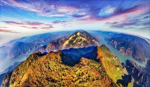 关于三峡的诗,有一种中国美,叫三峡