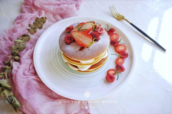"""松饼的吃法,吃一次就上瘾的#安佳一口""""新""""年味#完美松饼"""