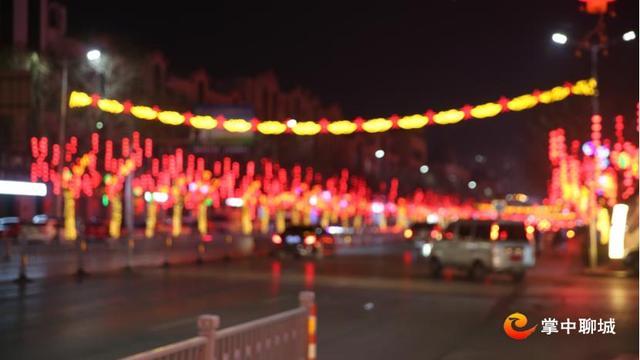 """中国结的意义,网络中国节 阳谷城区:""""中国梦""""元素街灯迎新春"""