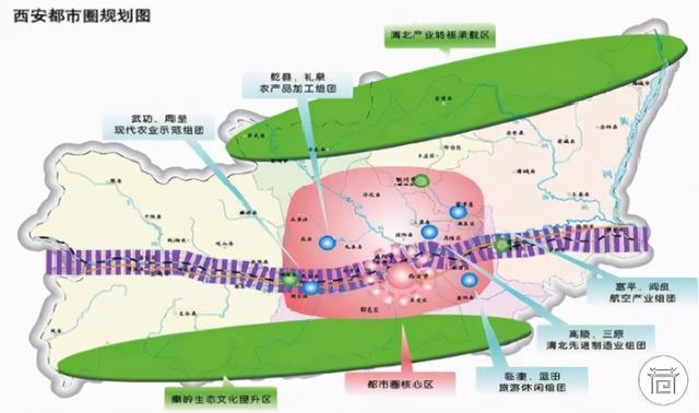新春特辑〡再提西咸一体化,西安都市圈怎么建?