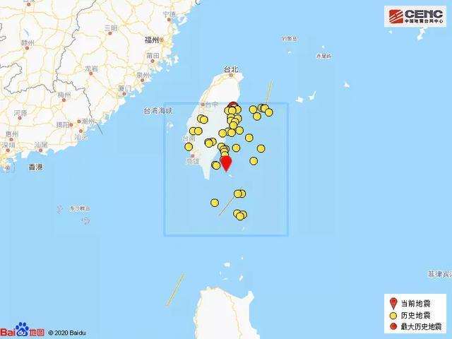 台湾台东县海域发生4.6级地震 震源深度16千米 全球新闻风头榜 第2张