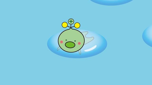 """吉祥物图片,为了宣传""""福岛核污水排放入海""""无害,日本推出了个吉祥物"""
