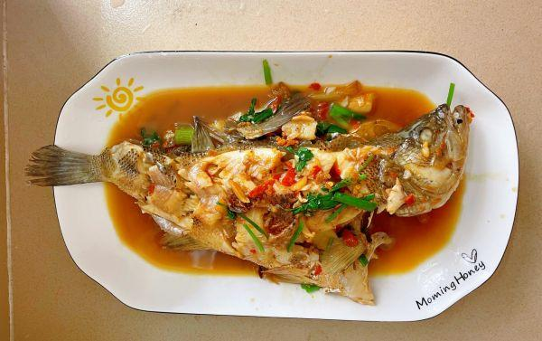 鲈鱼的吃法,10分钟快手菜红烧鲈鱼,做饭不发愁