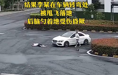 情侣在高速服务区吵架 男子爬上车引擎盖被女友甩飞 全球新闻风头榜 第2张