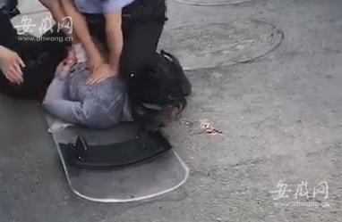 突发!安庆市人民路步行街上多人被凶手持刀捅伤 全球新闻风头榜 第1张