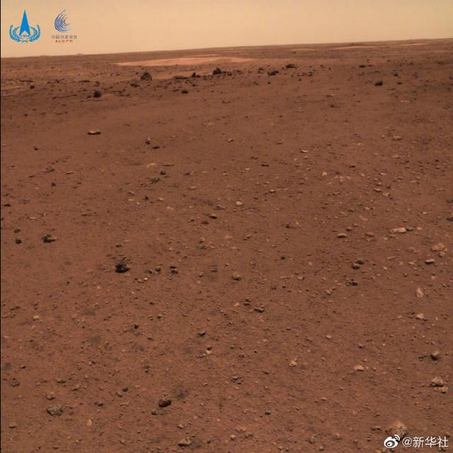 天问一号着陆火星首批科学影像图公布 我国首次火星探测任务取得圆满成功 全球新闻风头榜 第2张