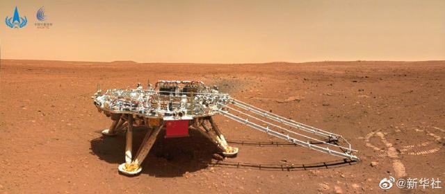 天问一号着陆火星首批科学影像图公布 我国首次火星探测任务取得圆满成功 全球新闻风头榜 第3张
