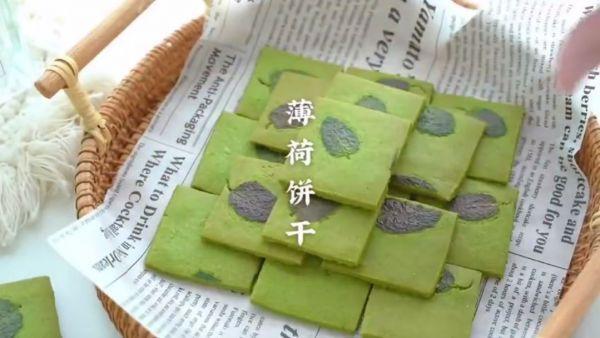薄菏的吃法,最让孩子停不下筷子的竟然是薄荷饼干