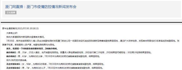 福建厦门新增2例确诊病例2例无症状感染者 全球新闻风头榜 第1张