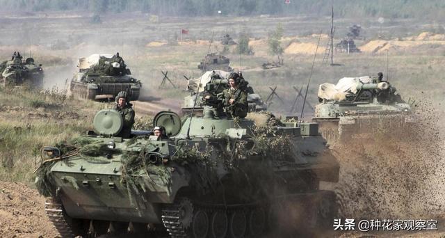 乌克兰坐视不管,催毁中东地区亲美武装俄空军边境线演习