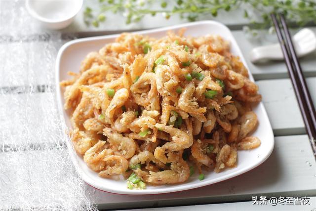 油炸大虾的做法,教你油炸河虾的做法,只要按着步骤做,做的又香又酥,好吃美味