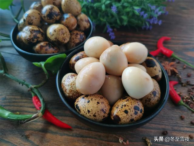 """鹌鹑蛋的做法,鹌鹑蛋被称为""""天然的补脑丸""""要做给孩子吃,教你五香鹌鹑蛋做法"""