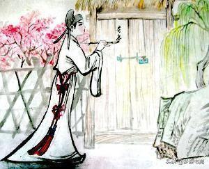 桃花的唯美句子,桃花依旧笑春风 藏在古诗词里的唯美爱情