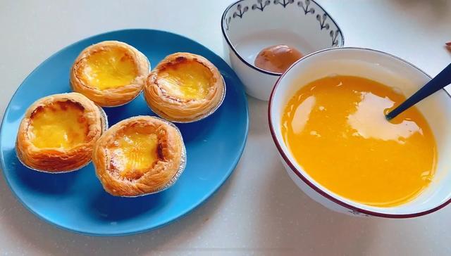 蛋挞液的做法,开封菜一样鲜嫩爽滑的蛋挞做法,两种蛋挞液配料表在家做更方便!