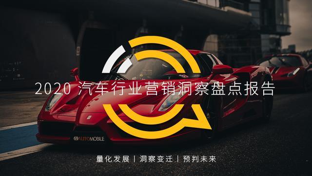 汽车营销策划案,QuestMobile2020汽车行业营销洞察盘点报告
