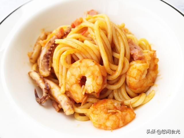 意大利面怎么做,意大利面的家常做法,简单实惠又美味,在家就能轻松做