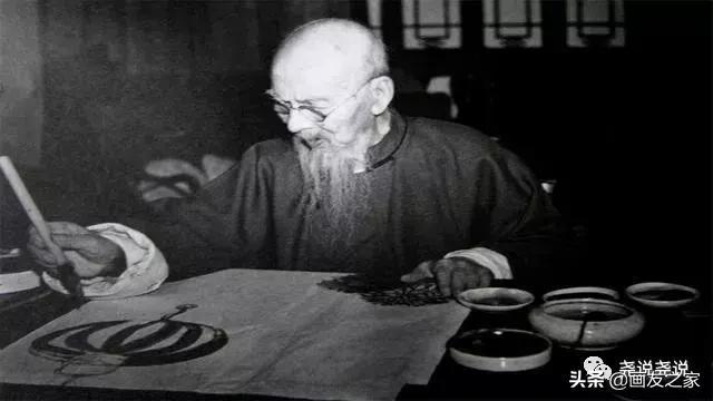 齐白石简介,国画大师齐白石的风流韵事:83岁生孩子,93岁娶22岁姑娘