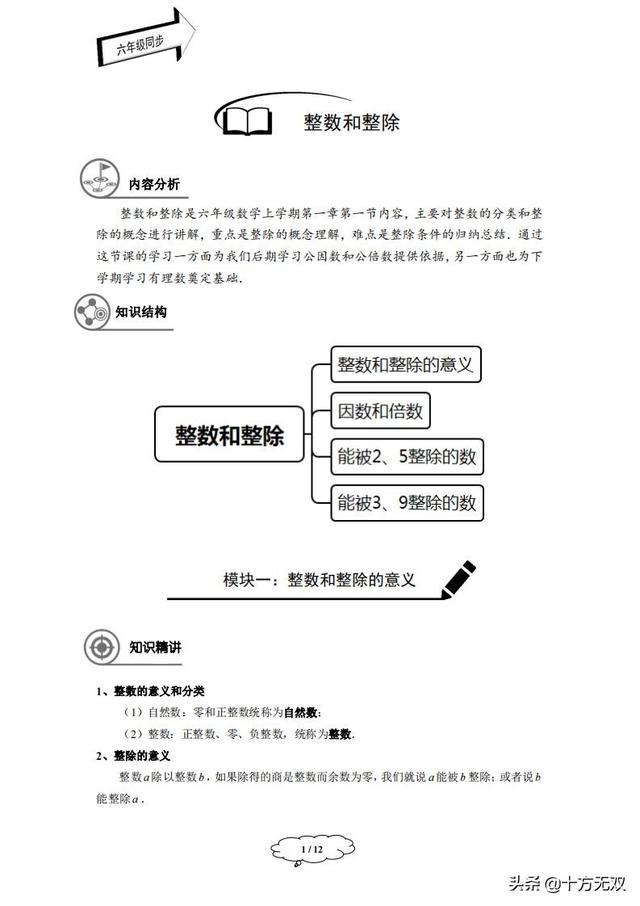 辅导机构六年级精品讲义(沪教Word版)秋季班学生版
