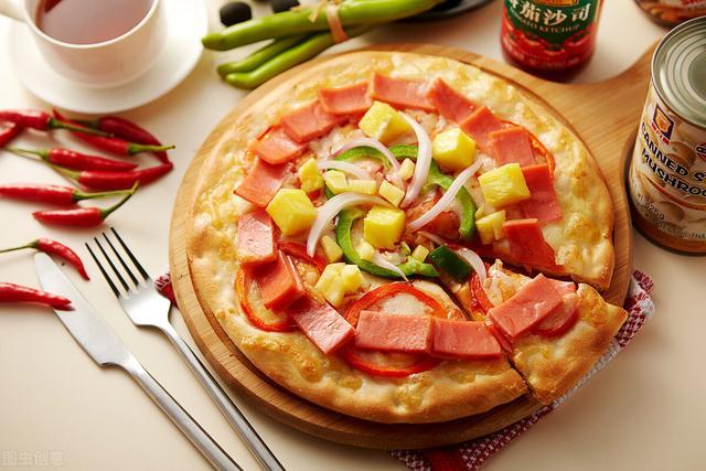 披萨怎么做,在家自己做披萨