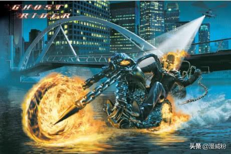 恶灵骑士漫画,漫威恶灵骑士4个拉风坐骑,最强能干翻灭霸,最弱是台拖拉机
