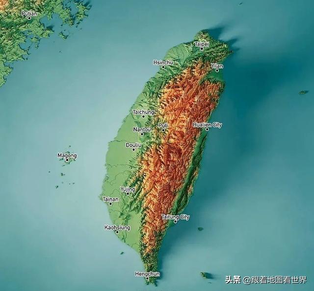 台湾的地理位置有多特殊?从地图中了解台湾岛地缘价值