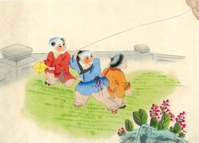 古诗《村居》,诗人高鼎《村居》:从儿童教育的视角,浅析自然主义教育的哲思