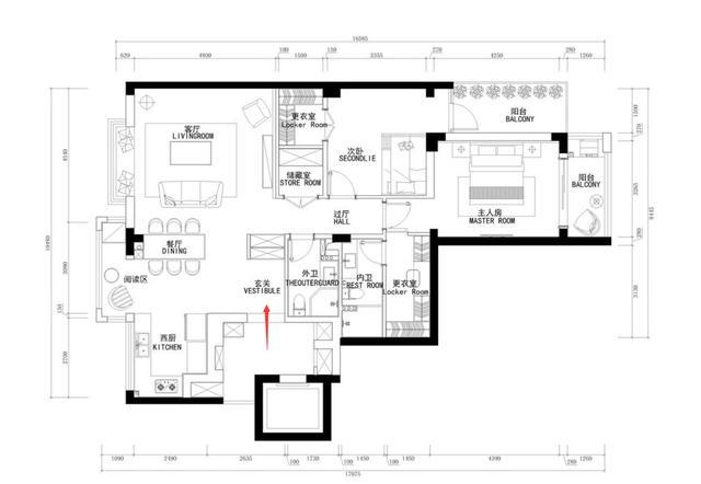 室内装修时既不给装修吊顶做造型设计,电视背景墙都不做不必要的