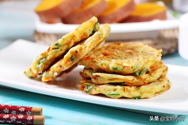 早餐饼的做法大全,5款几分钟就能做好的早餐饼,有蔬菜有水果,换着花样吃