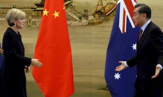 中澳关系日益焦虑不安,导致了经济发展与外交关系上的极大磨擦